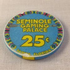 Seminole Casino Chip